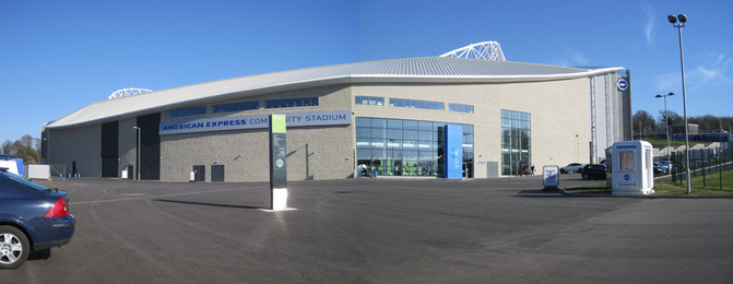 American Express Community Stadium in Brighton
