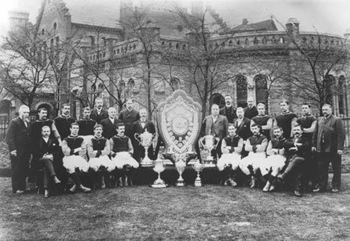 Aston Villa Title Winning Team in 1899