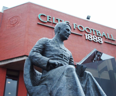Statue of Brother Wilfred at Celtic Park