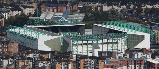 Easter Road Stadium in Edinburgh