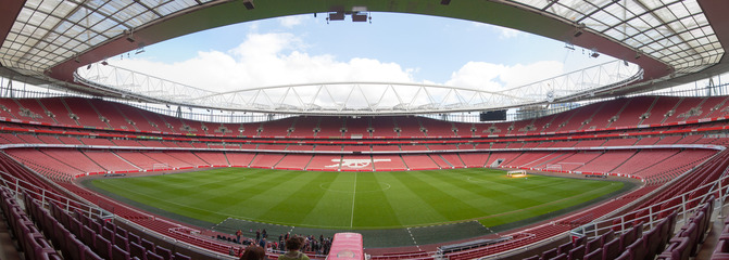 Emirates Football Stadium in London