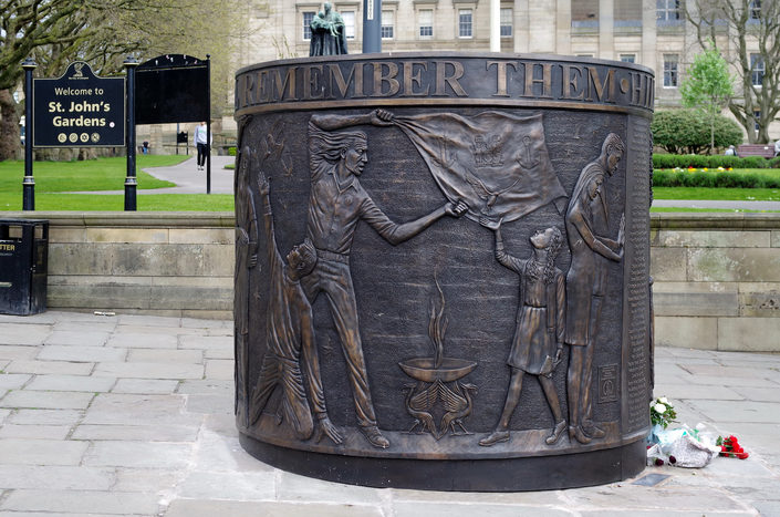 Hillsborough Tragedy Memorial in Liverpool