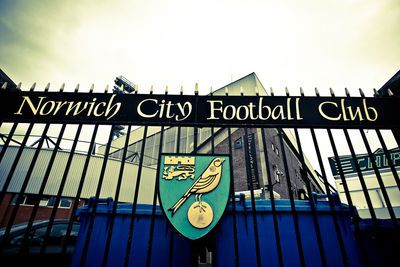 Norwich City Football Club Gates