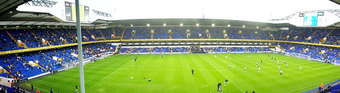White Hart Lane Football Stadium