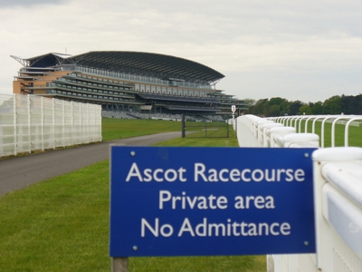 Ascot Racecourse Sign