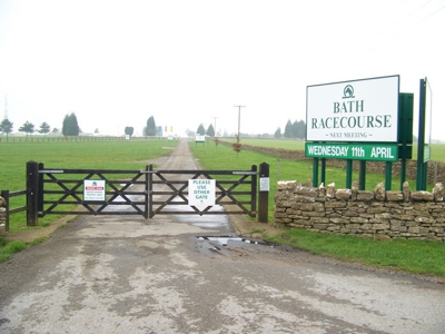 Entrance to Bath Racecourse
