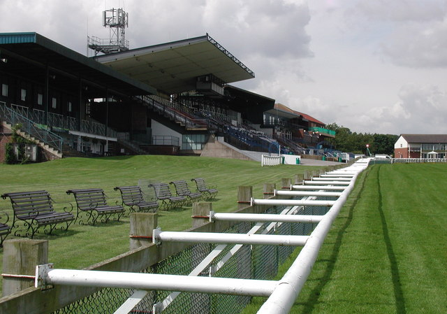 The Grand Stand at Beverley Racecourse