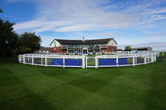 The Parade Ring at Beverley Racecourse