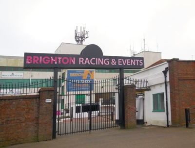Gates to Brighton Racecourse