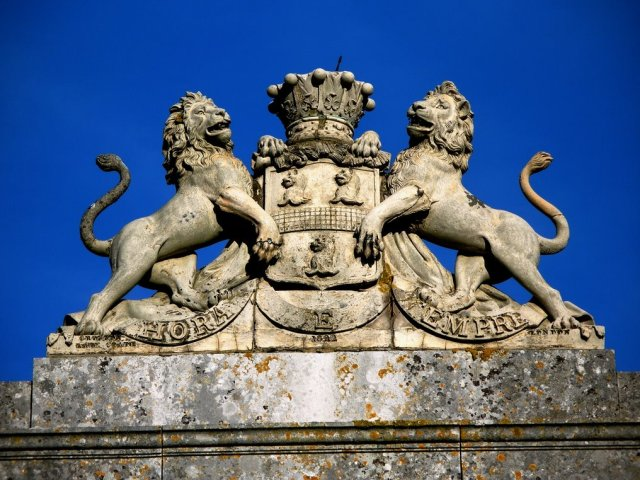 Easton Neston Gate at Towcester Racecourse