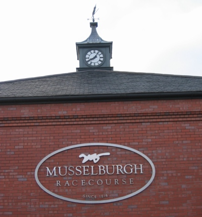 Entrance to Musselburgh Racecourse