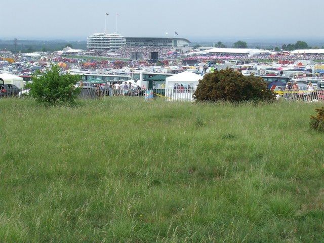 Epsom Downs on Derby Day