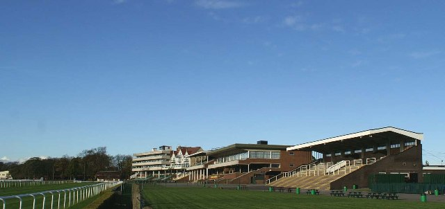 The Grandstand at Haydock Park