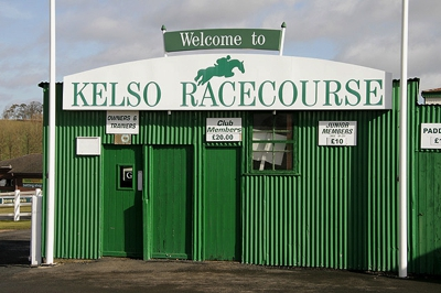 Kelso Racecourse Entrance