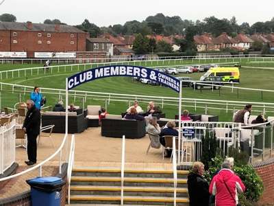 Club Members at Leicester Racecourse
