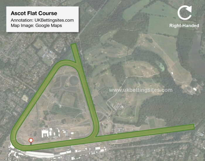 Ascot Flat Racecourse Map