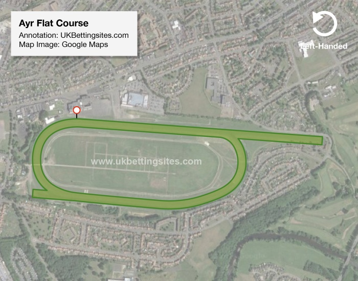 Ayr Flat Racecourse Map