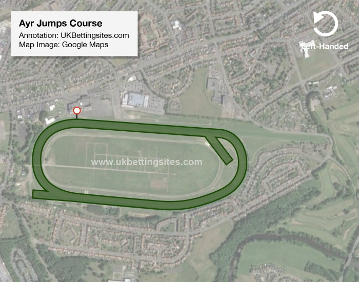 Ayr Jumps Racecourse Map