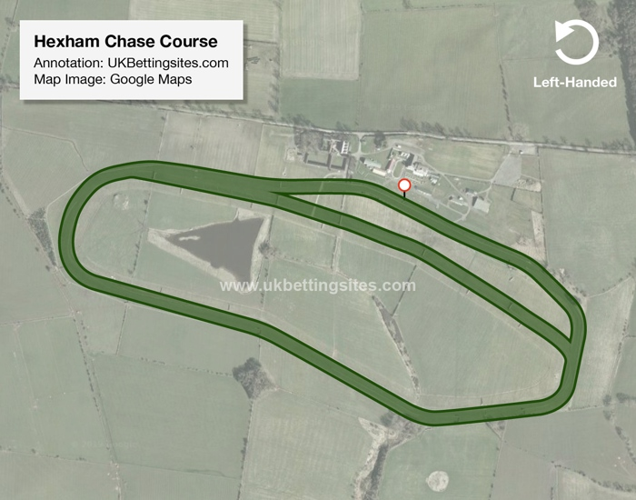 Ayr Chase Racecourse Map