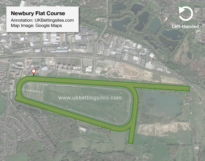 Newbury Flat Racecourse Map