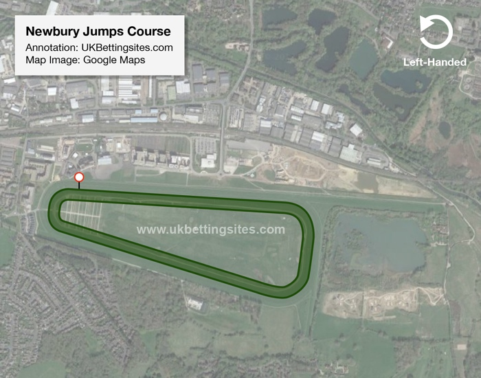Newbury Jumps Racecourse Map