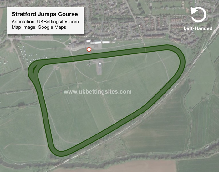 Stratford Jumps Racecourse Map