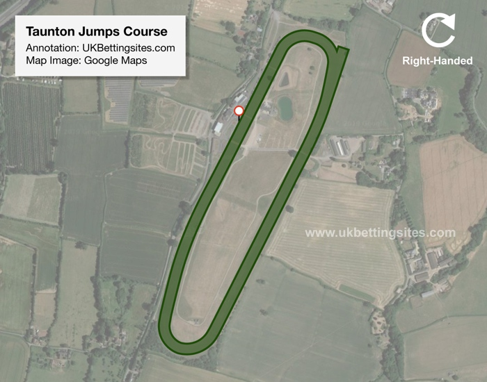 Taunton Jumps Racecourse Map