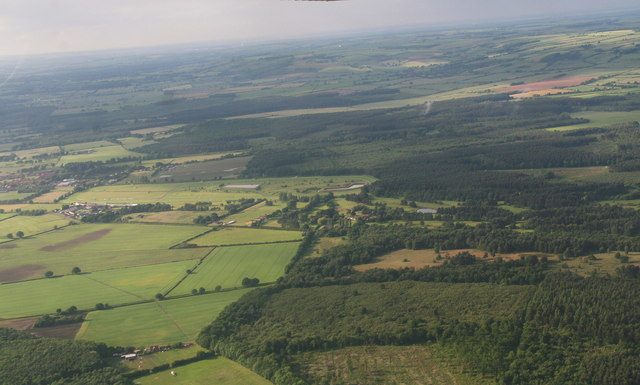 Market Rasen from Above