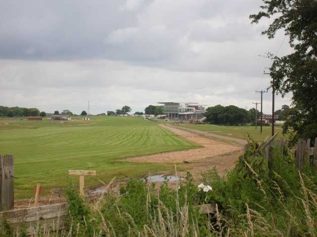 Wetherby Racecourse from Harland Way