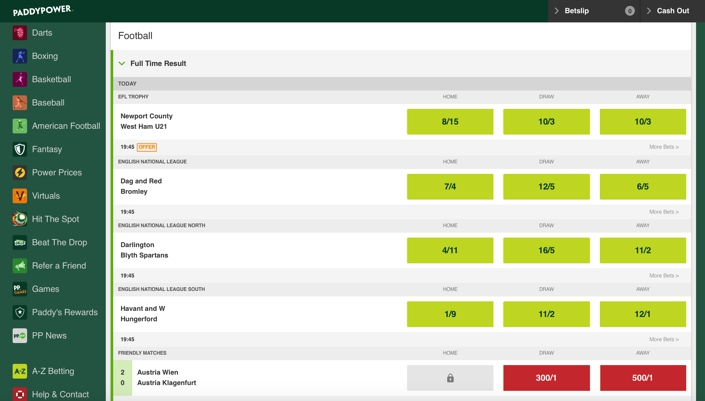 Euro 2021 betting odds paddy power introduction to binary options 101